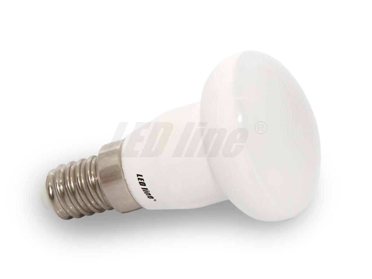 Led line LED žárovka 5W 12xSMD5630 E14 JRD 400lm TEPLÁ BÍLÁ R39